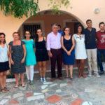 Emotiu encontre de Mónica Oltra amb usuaris/es i professionals dels centres de menors i diversitat funcional gestionats per FSC a Alacant