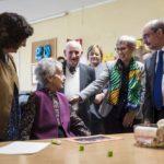 """El presidente de Aragón visita la Residencia """"Las Fuentes"""" gestionada por FSC como ejemplo de aplicación de la Ley de la Promoción de la Autonomía Personal"""